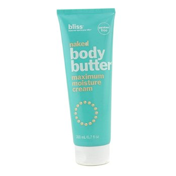 BlissNaked Body Butter 200ml/6.7oz