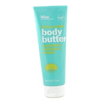 BlissLemon + Sage Body Butter 200ml/6.7oz