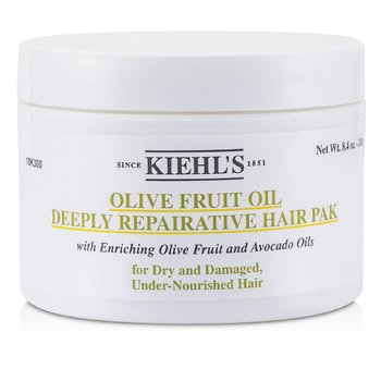 Kiehl'sOlive Fruit Oil Deeply Repairative Hair Pak (For Dry and Damaged, Under-Nourished Hair) 250ml/8oz