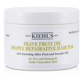 Kiehl's Olivenfruktolje Dypt Reparerende H�rpakke ( For t�rt og skadet, underern�ret h�r )  250ml/8oz