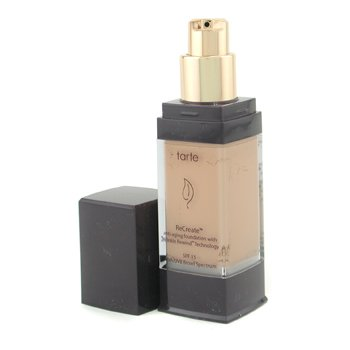 Tarte-ReCreate Natural Anti Aging Foundation SPF 15 - # 06 Warm Bisque ( Exp. Date 12/2010 )