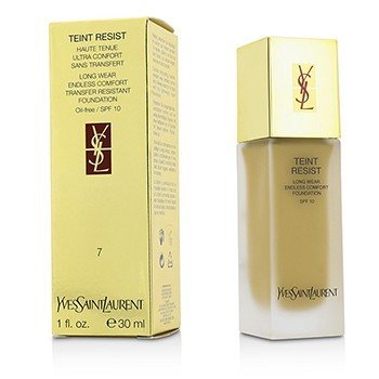 Yves Saint Laurent-Teint Resist Long Wear Transfer Resistant Foundation SPF10 ( Oil Free ) - #07 Pink Beige