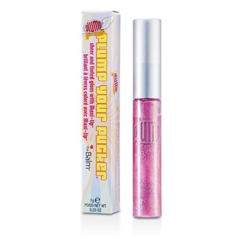TheBalm Plump Your Pucker Tinted Gloss -  # Strawberry My Shortcake 7g/0.25oz