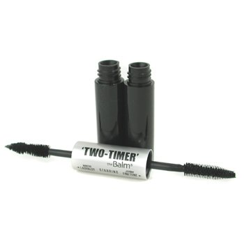 TheBalm-Two Timer Mascara ( Double Ended ) - # Black
