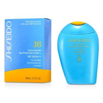 ShiseidoExtra Smooth Loci�n Solar Protectora N SPF 38 ( Cara y Cuerpo ) 100ml/3.3oz