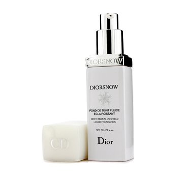 Christian Dior-Diorsnow White Reveal UV Shield Liquid Foundation SPF30 - # 010 Ivory