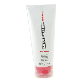 Paul Mitchell Flexible Style Wax Works (Extreme Texture)  200ml/6.8oz