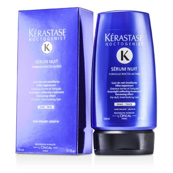 KerastaseNoctogenist Serum Nuit Overnight Softening Leave-In Treatment (For Dull, Tired-Looking Hair) 150ml/5.1oz