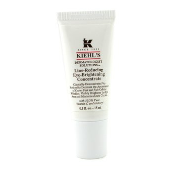 Kiehl'sDermatologist Solutions Line-Reducing Eye-Brightening Konsentrat Untuk Mata 15ml/0.5oz