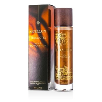 GuerlainTerracotta Huile De Voyageur Nourishing Dry Oil Illuminating Tan Intensifier SPF 8 100ml/3.4oz