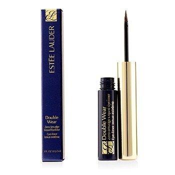 Estee Lauder Double Wear Zero Smudge Liquid Eyeliner - #02 Brown  3ml/0.1oz