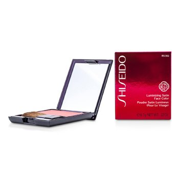 Shiseido Luminizing Satin Face Color - Color Rostro # RS302 Tea Rose  6.5g/0.22oz