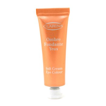 Clarins-Soft Cream Eye Color - #01 Petal ( Unboxed )