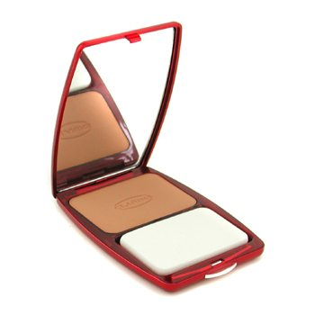 Clarins-Express Compact Foundation Wet/ Dry - # 10.5 Warm Beige ( Unboxed )