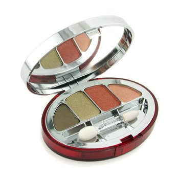 Clarins-Colour Quartet For Eyes - No. 40 Forest ( Unboxed )