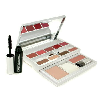 CliniqueAll In One Colour Palette (1x Face Powder, 1x Blusher, 4x EyeShadow, 1x Mascara, 5x LipColor.....)