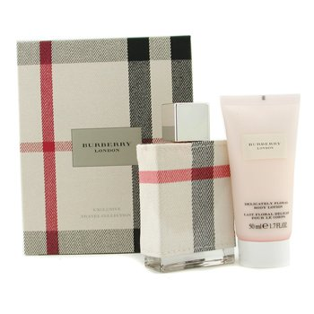Burberry-London Coffret: Eau De Parfum Spray 50ml/1.7oz + Body Lotion 50ml/1.7oz