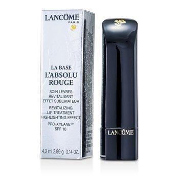Lanc�meLa Base Batom L'  Absolu Rouge Revitalizing Lip Treatment Highlighting Effect SPF 10 4.2ml/0.14oz
