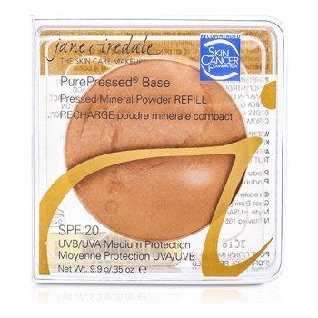 PurePressed Base Прессованная Минеральная Пудра Запасной Блок SPF 20 - Кофе 9.9g/0.35oz StrawberryNET 1780.000