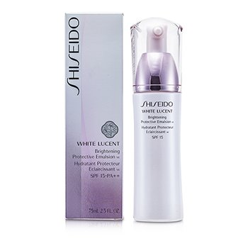 ShiseidoWhite Lucent Brightening Protective Emulsion W SPF 15 75ml/2.5oz