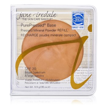 Jane Iredale PurePressed Base Pressed Mineral Powder Refill SPF 20 – Teakwood 9.9g/0.35oz