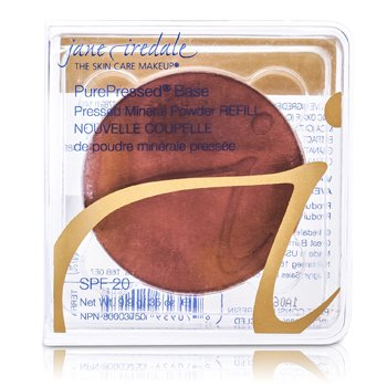 Jane Iredale PurePressed Base Pressed Mineral Powder Refill SPF 20 – Terra 9.9g/0.35oz