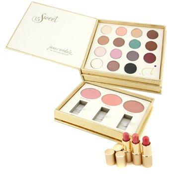 Jane Iredale-Sweet 15 MakeUp Palette: 15x Eye Shadow + 3x Blush + 3x Lip Plumper