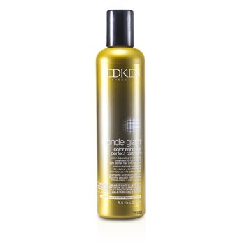 BlondeBlonde Glam Color Enhancer Perfect Platinum Color-Depositing Conditioning Treatment 250ml/8.5oz