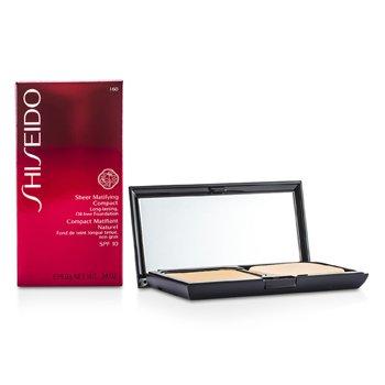 Shiseido-Sheer Matifying Compact Oil Free SPF10 - # I60 Natural Deep Ivory