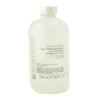 Academie Hypo-Sensible Cleaning Water & Toner For Face & Eyes (Salon Size) 500ml/16.9oz