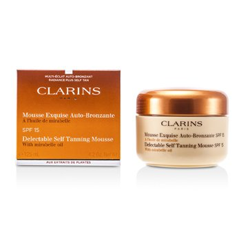 ClarinsDelectable Self Tanning Mousse with Mirabelle Oil SPF 15 Mousse Bronceadora 125ml/4.2oz