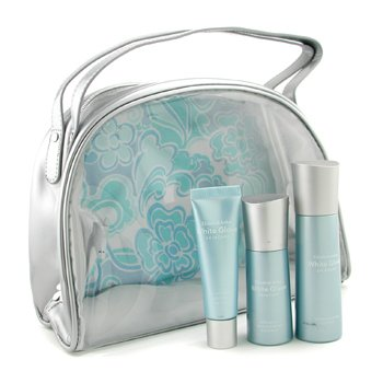 Elizabeth ArdenWhite Glove Set: Retexturing Lotion 50ml/1.7oz + Revitalizing Essence 30ml/1oz + UV Defense 30ml/1oz + bag 3pcs+1bag
