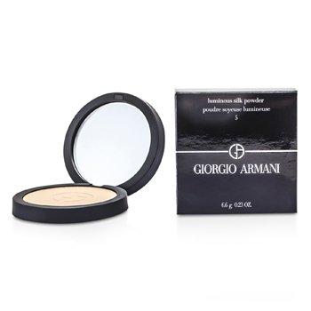 Giorgio Armani-Luminous Silk Powder - # 5 Warm Beige