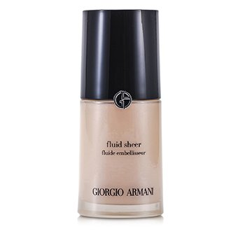 Giorgio Armani-Fluid Sheer - # 7 Pale Shimmering Rose