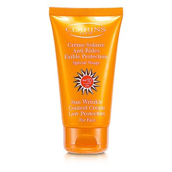 ClarinsSun Wrinkle Control Cream Low Protection For Face  - Crema Protectora Rostro ( Sin Embalaje ) 75ml/2.7oz