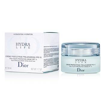 Christian DiorHydra Life Pro-Youth Protective Creme SPF15 (Normal / Dry Skin) 50ml/1.7oz