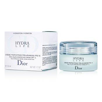 Christian Dior Hydra Life Crema Protectora Pro-Juventud SPF15 (Piel Normal/Seca)  50ml/1.7oz