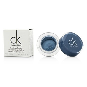 Calvin KleinTempting Glimmer Sheer Creme EyeShadow - #311 Turquoise Blue 2.5g/0.08oz