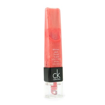 Calvin Klein-Delicious Pout Flavored Lip Gloss - #406 Burst