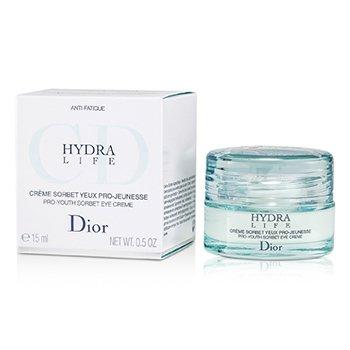 Christian Dior Hydra Life Pro-Youth Crema Ojos Sorbete Rejuvenecedora  15ml/0.5oz