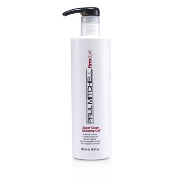 Paul MitchellSuper Clean Gel Esculpidor ( Control M�ximo ) 500ml/16.9oz