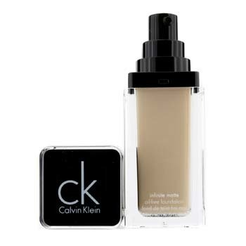 Calvin Klein Infinite Matte Oil Free Foundation - # 214 Biscuit  29.6ml/1oz