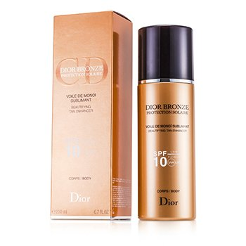 Christian DiorDior Bronze Voile De Monoi Tan Enhancer Medium Protection - Protecci�n Bronceadora Estimulante SPF10 UVA 200ml/6.7oz
