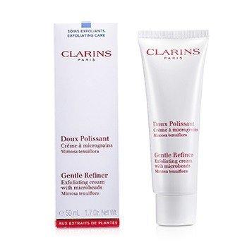 Clarins Gentle Refiner Exfoliating Krim - Pengelupas Kulit dengan Microbeads  50ml/1.7oz