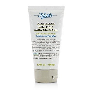Kiehl'sRare Earth Deep Pore Limpiador Diario Profundo 150ml/5oz