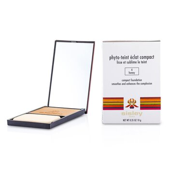 Sisley Phyto Teint Eclat Compact Foundation - # 4 Honey  10g/0.35oz