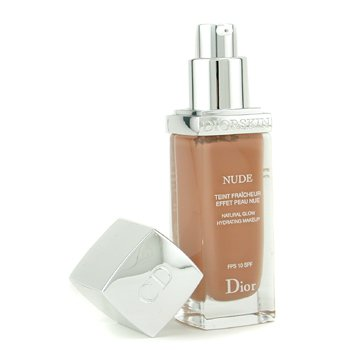 Christian DiorDiorskin Nude Natural Glow Hydrating Makeup SPF 10 - # 050 Dark Beige (Unboxed) 30ml/1oz