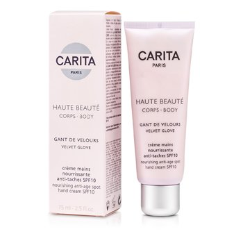 CaritaHaute Beaute Corps Gant De Velours Nourishing Anti-Age Spot Hand Cream SPF10 75ml/2.5oz