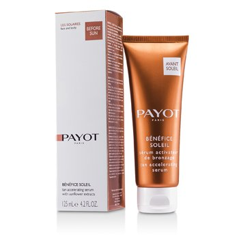 PayotSerum Benefice Soleil Tan Accelerating  ( p/ face & corpo ) 125ml/4.2oz
