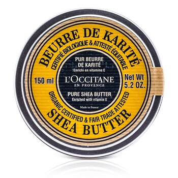 L'OccitaneOrganic Pure Manteiga de Karite 150ml/5.2oz